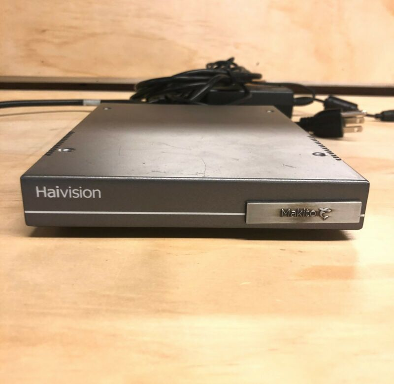 Haivision Makito X Video Decoder S-292D-HD2 Dual SDI