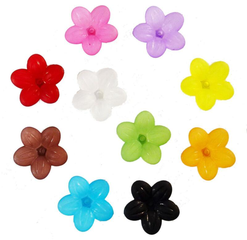 Acrylic Flower Beads