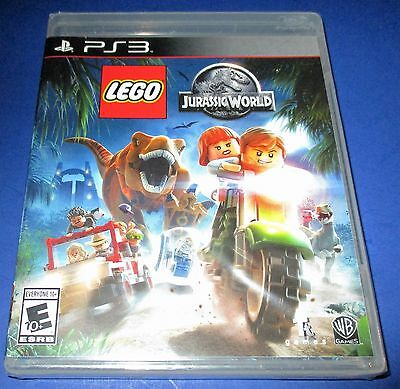 Lego Jurassic World Sony Playstation 3   Ps3    Factory Sealed   Free Shipping
