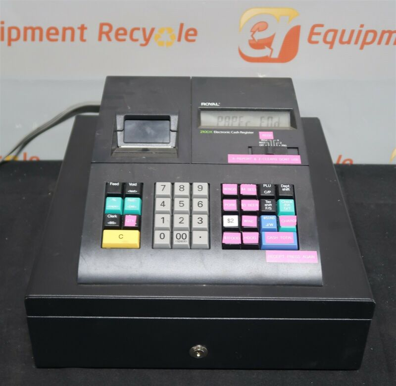 Royal 210DX Electronic Cash Register Thermal Printer Entry Level