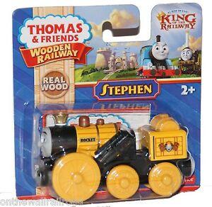 STEPHEN-Thomas-Tank-Engine-Wooden-Railway-KING-Castle-Royal-NEW-IN-BOX