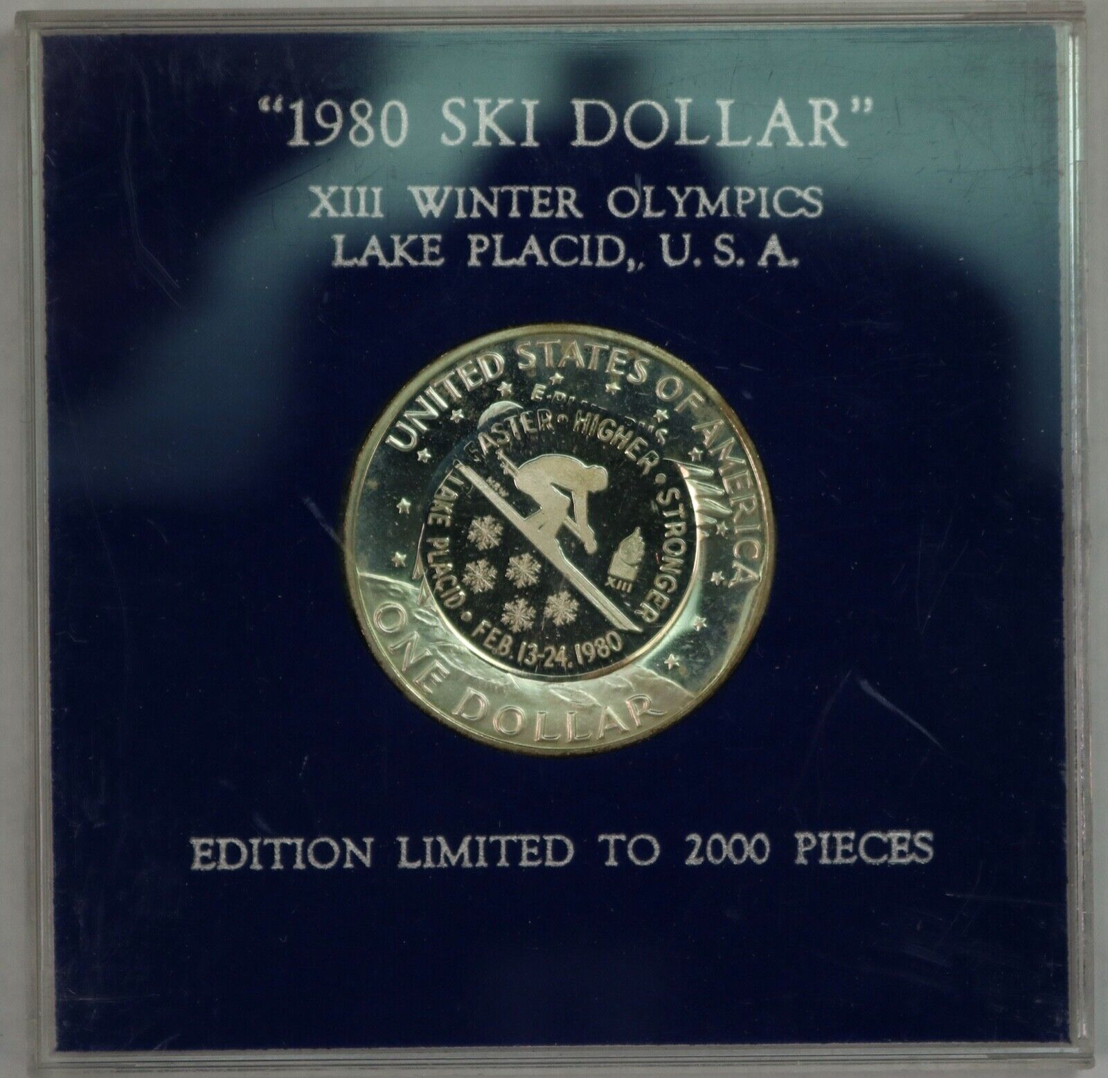 1980 Ski Dollar. Counterstrike By Mel Wacks. RAW560/SH - $89.99