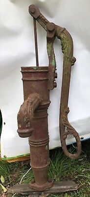 Victorian Unusual Hand Operated Water Pump.  F