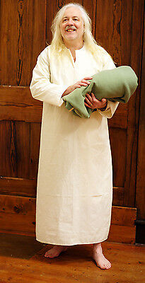 Medieval-Larp-Gothic-SCA-Re enactment-Period MALE NIGHTSHIRT-GOWN All sizes](Medieval Costumes Male)
