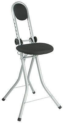 Bügelhilfe Stehhilfe Sitzhilfe höhenverstellbar Stehstuhl Stehsitz Bügelstuhl