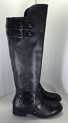 Dolce Vita Womens Black Over The Knee LUCILE Boots Shoe Size 7.5 Lucille Black Adult Shoes