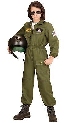Kampfjet Kiko Pilot Kinderkostüm NEU - Mädchen Karneval Fasching Verkleidung Kos