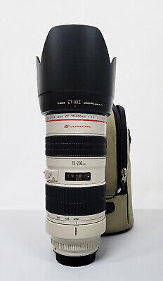 """# Canon EF 70-200mm f/2.8 USM Lens """"UT"""" S/N 162731"""