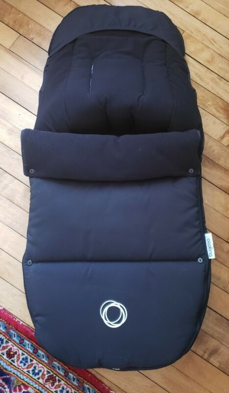 Bugaboo Universal Footmuff black 80110ZW01 Cameleon Bee Brown retails $189
