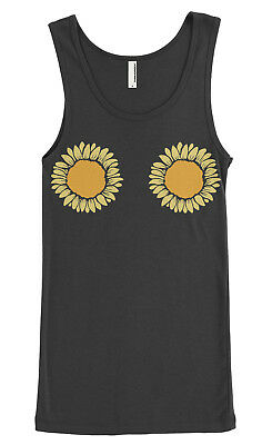 Sunflower Themed Party (Sunflower Bikini Women's Junior Fit Tank Top Outdoor Wedding Party)