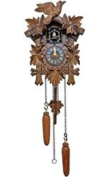 Engstler Battery-operated Black Forest Cuckoo Clock - Full Size - (522QM)