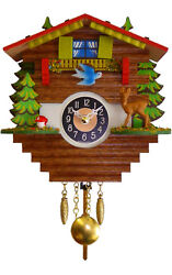 Alexander Taron Engstler Battery Operated Wall Clock with Music and Chimes