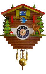 Engstler Battery Operated Wall Clock with Music and Chimes ALX2910