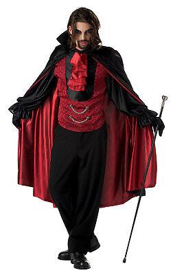Dracula Count Bloodthirst Vampire Men Costume - Count Dracula Costumes