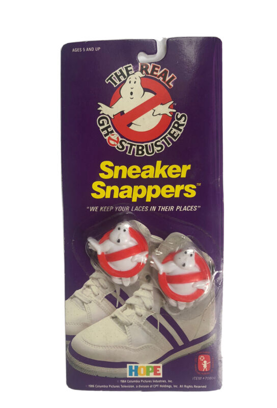 Vintage The Real Ghostbusters - Sneaker Snappers 1986 New READ