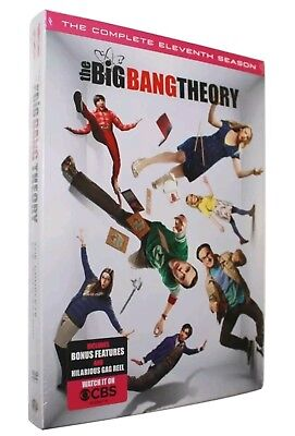 THE BIG BANG THEORY SEASON 11(2 DVDs)BRAND NEW-GAG REEL & BONUS FEATURES!!!!!!