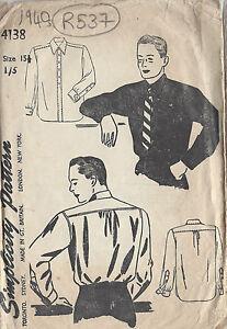 1940s Vintage Sewing Patt