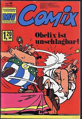 MV Comix Nr.10 vom 6.5.1972 mit Asterix, Superman - TOP Z1 Ehapa Comicheft
