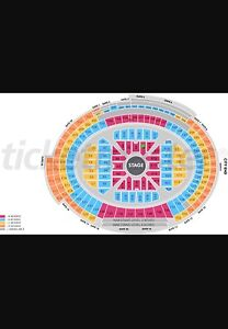 2x A RESERVE Adele Live - Block A9 Row T seats 9-10 Nedlands Nedlands Area Preview