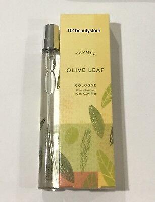 THYMES Olive Leaf Cologne 0.34oz  **NEW** ()