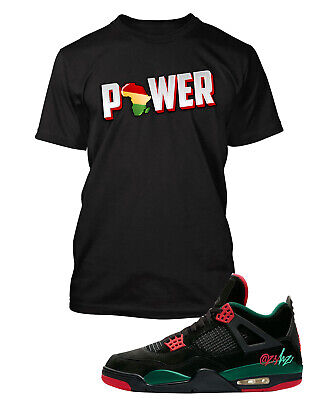 - Power Tee shirt to Match Jordan 4 Shoe Do the Right Thing Mens Big and Tall Tee