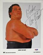 Andre The Giant Signed
