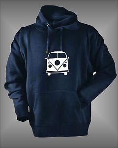 vw camper van mens womens kids boys girls cool hoodie sweatshirt ebay