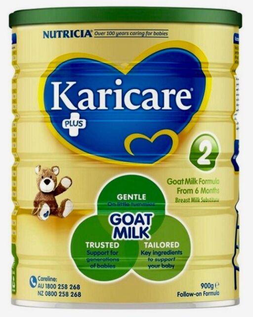 Karicare 2 Goat Milk Formula from 6 mths infant 6 available