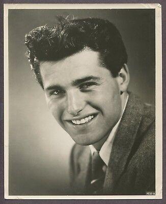 Jim Davis Actior Early Portrait Original 1940 Photo Bobby Ewing Dallas J6590