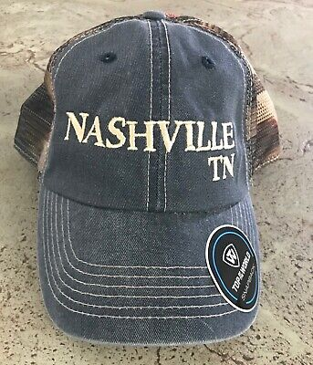 Top of the World Nashville Tennessee Patriotic Flag Hat