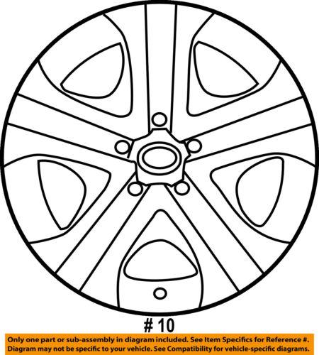Toyota Oem 16 18 Rav4 Wheels Wheel Cover 426020r030