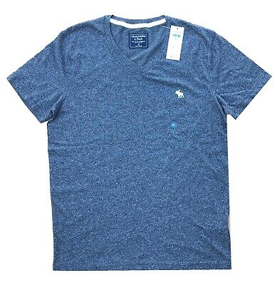 NWT Abercrombie & Fitch ICON V-NECK TEE,Men's T-Shirt All Sizes Free Shipping