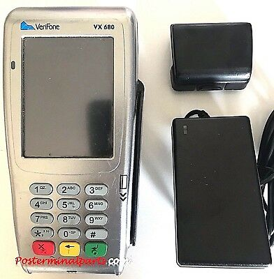 Verifone Vx680 Gprs Credit Card Reader Pos Terminal Tpe Unblocked
