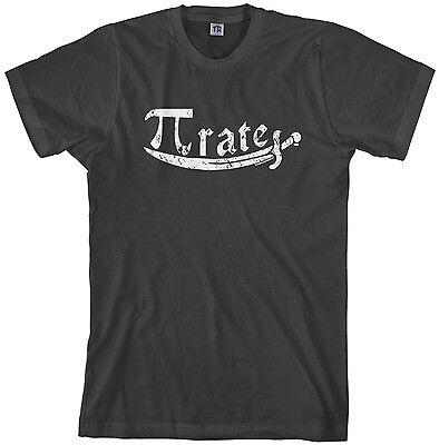 Threadrock Men's Pi Symbol Pirate T-shirt Math Pi Day 3.14](Pirate Shirt Men)