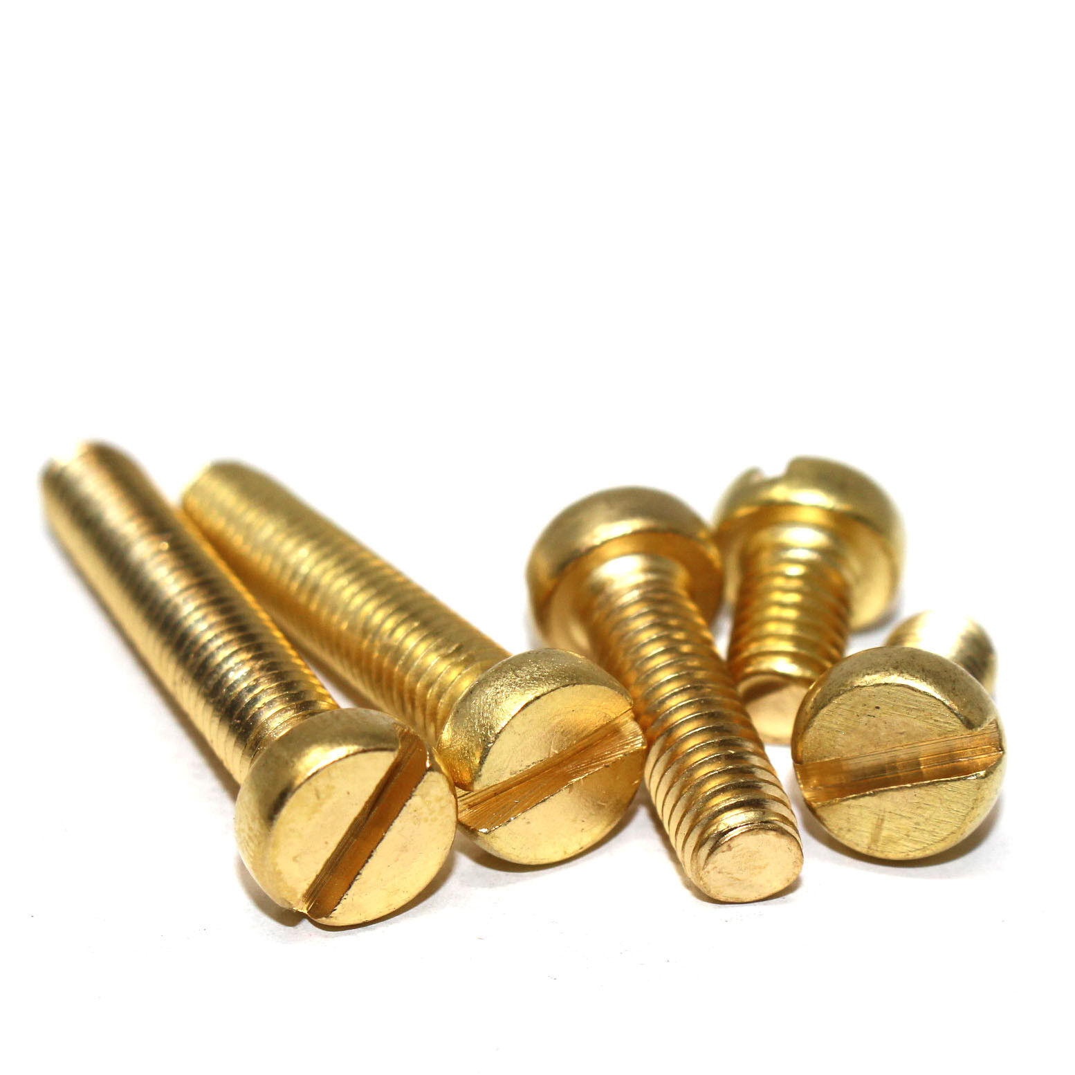 Picture of: M2 M2 5 M3 M4 M5 M6 Solid Brass Machine Screws Slotted Cheese Head Bolts Din84 Ebay