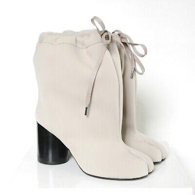 MAISON MARTIN MARGIELA split toe nude neoprene high heel shoes tabi boots 38 NEW for sale  Philadelphia