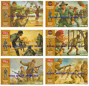 Airfix-1-32-Brown-Box-set-of-6-Posters-German-Japanese-British-Australian-etc