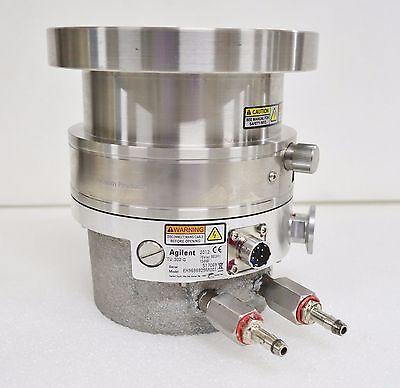 Varian Agilent Turbo-v Tv 302-g Turbo Vacuum Pump 969-8929 2012 Spins Freely