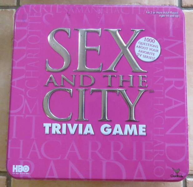 Sex And The City Trivia Board Game