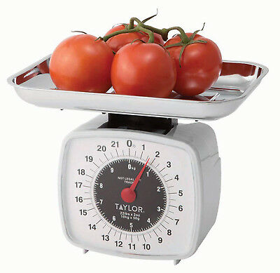 Kitchen Scale 22-Pound/10-Kilogram Analog Display Food Fruit Meat Vegetable