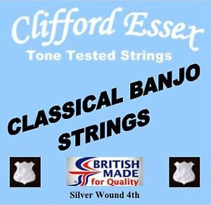 CLASSICAL-BANJO-STRINGS-THE-PROFESSIONALS-CHOICE-CLIFFORD-ESSEX-THE-BEST