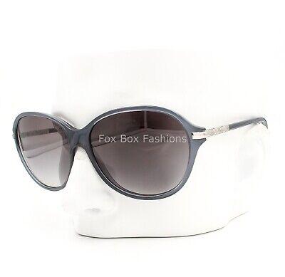 Burberry B 4124 3013/11 Sunglasses Transparent Blue with Grey Gradient (Burberry Sunglass)