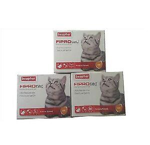 BEAPHAR-FIPROTEC-CAT-FLEA-SPOT-ON-FIPRONIL-VET-STRENGTH-1-3-6-TREATMENT-SOLUTION