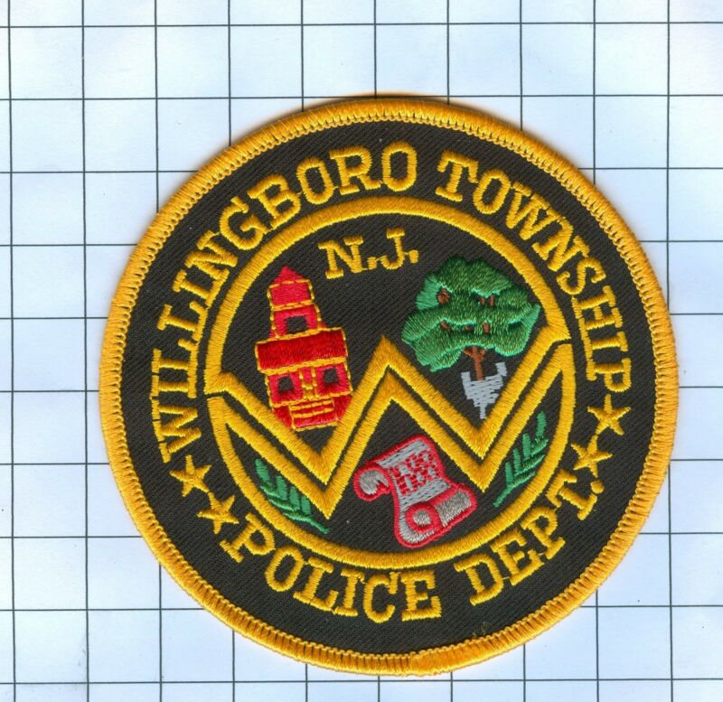 Police Patch  - New Jersey - Willingboro Township