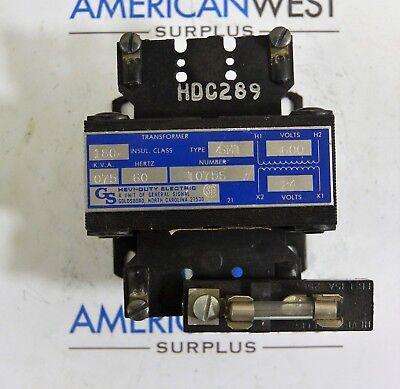 General Signal Smt Hevi Duty Control Transformer 0.075 Kva 600v To 24v