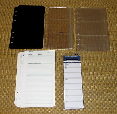 Compact Size Franklin Covey Planner Binder Fillers Refill Accessory Pack Lot