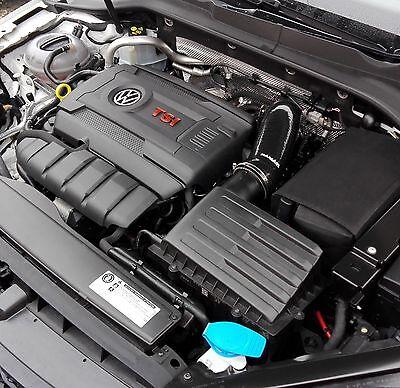 Black Ramair Silicone Induction Intake Pipe Air Hose - VW Golf GTI R 2.0 TSI mk7