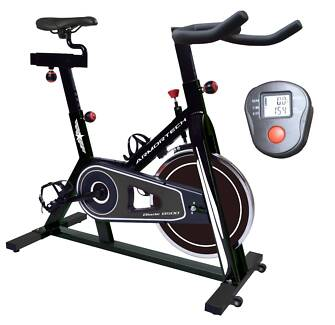 NEW SPIN BIKE Heavy 18kg Flywheel Includes Console