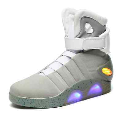 Mag Back to the Future Light Up Grey Trainers Shoes, All Sizes NEW](Back To The Future Light Up Shoes)