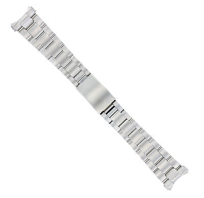 STAINLESS STEEL OYSTER WATCH BAND FOR ROLEX DATEJUST 36MM SOLID ENDS NEW STYLE